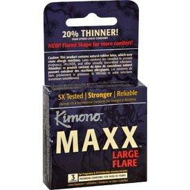 Kimono MaXX Flare Large Condom 3 pack
