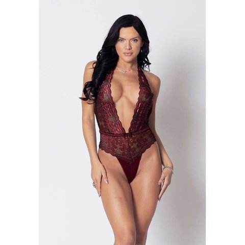 Arlez Lace and Microfiber Teddy