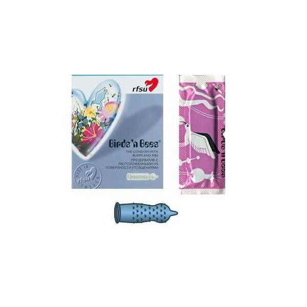 RFSU NAKKEN Birds `n Bees Condoms 10-Pack