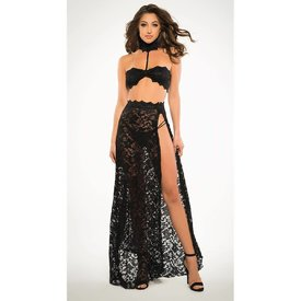 Allure Lace Bandeaux and Tango Skirt