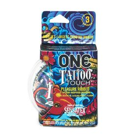 Durex ONE Tattoo Touch Condoms 3pk