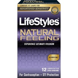 Lifestyles Natural Feeling Condoms 12pk