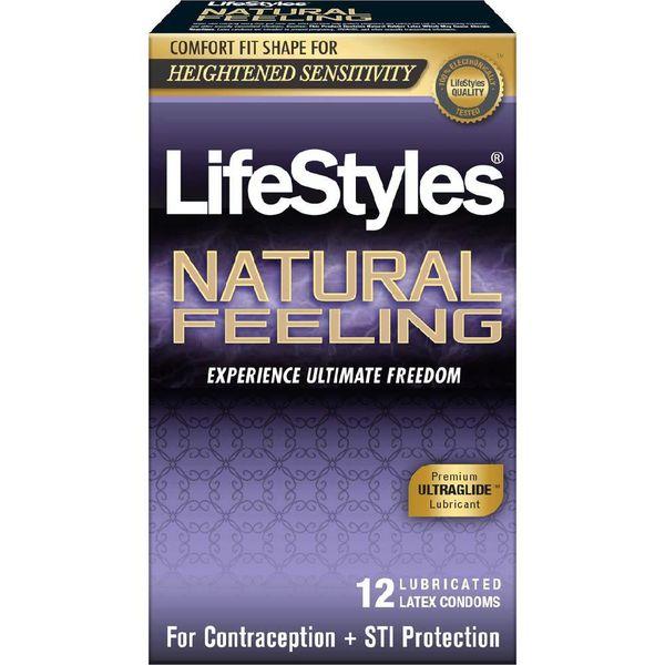 Lifestyles Natural Feeling Condoms 12pk