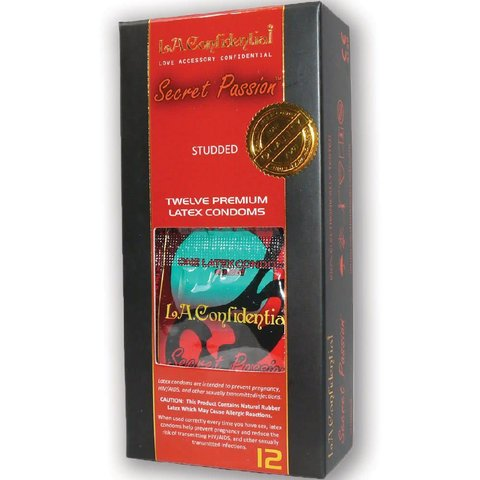 L.A. Confidential Condom Secret Passion 12pk