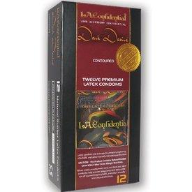 Durex L.A. Confidential Condom Dark Desire 12pk