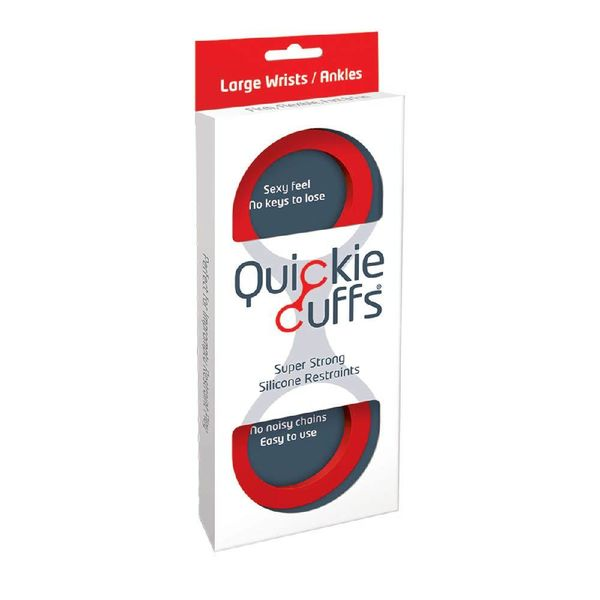 Creative Conceptions Quickie Cuffs Red - Large