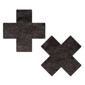 Pastease Liquid Black Cross Pasties