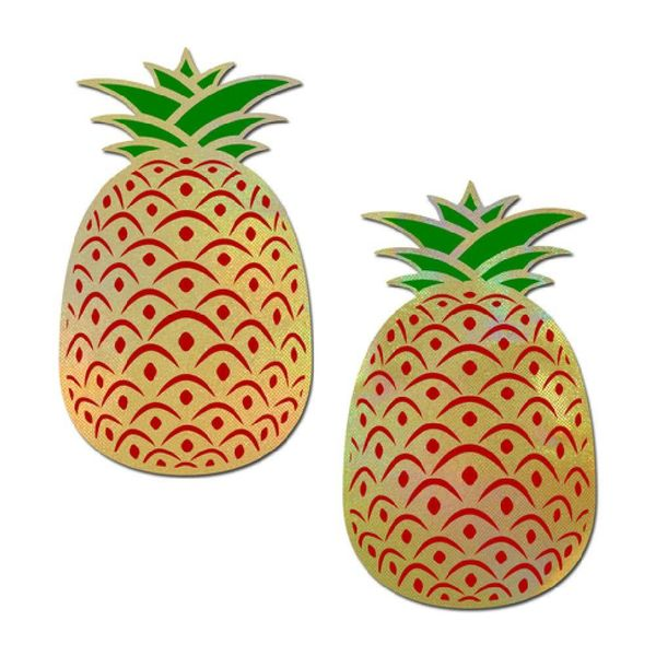 Pastease Holographic Pineapple Pasties
