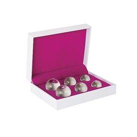 Glass Kegel Balls - Set of 6