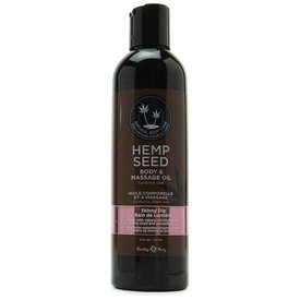Earthly Body Skinny Dip Hemp Seed Body And Massage Oil - 8 oz.