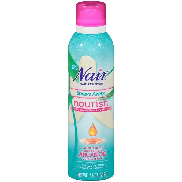 Nair Moroccan Argan Oil Hair Removal Spray 7.5oz