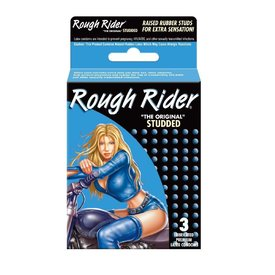 Rough Rider Studded Condom 3-pack