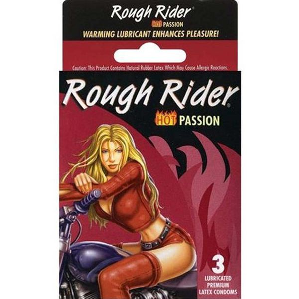 Rough Rider Studded Warming Condom 3-pack