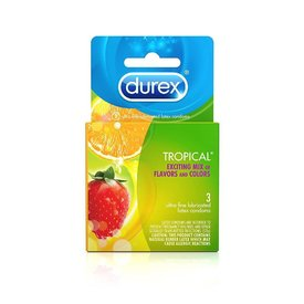 Durex Tropical Flavors Condom 3-pack