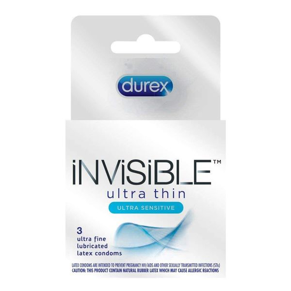 Durex Invisible Condom 3 pack