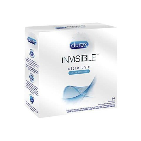 Invisible Condom 16-pack