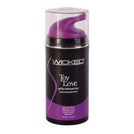 Wicked Sensual Care Toy Love Waterbased Gel - 3.3 oz