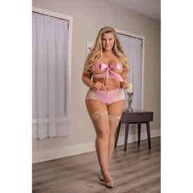 Exposed Sweetheart Set - Curvy
