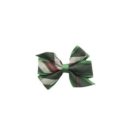 EE Dee Trim Sequoia Plaid Mini Bow #FBE1M
