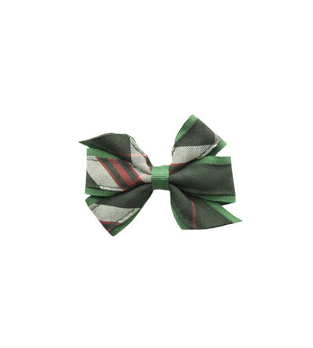 EE Dee Trim Sequoia Plaid Mini Bow #FBE1M