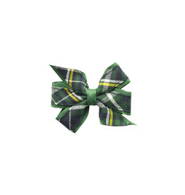 EE Dee Trim Christopher Plaid #1B Mini Bow #FBE1M