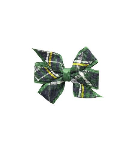 EE Dee Trim Christopher Plaid #1B Mini Bow #FBE1M