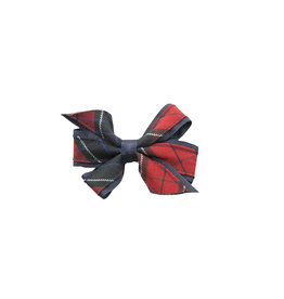 EE Dee Trim Woodland Plaid #94 Mini Bow #FBE1M