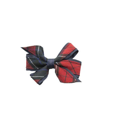 EE Dee Trim Woodland Plaid #94 Mini Bow #FBE1M