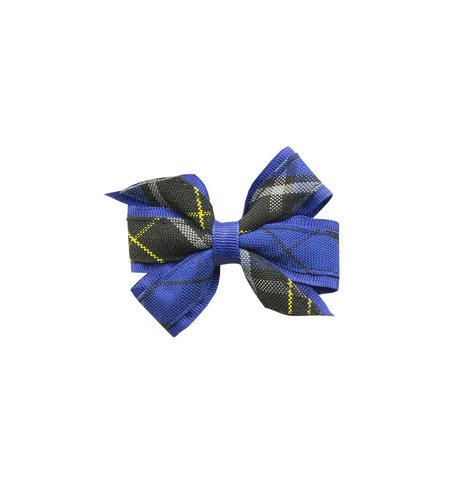 EE Dee Trim Mayfair Plaid #92 Mini Bow #FBE1M