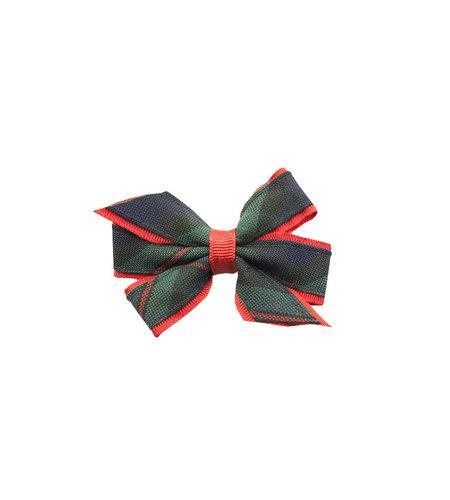 EE Dee Trim Lewis Plaid #88 Mini Bow #FBE1M