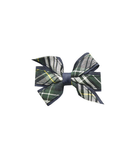 EE Dee Trim Campbell Plaid #61 Mini Bow #FBE1M