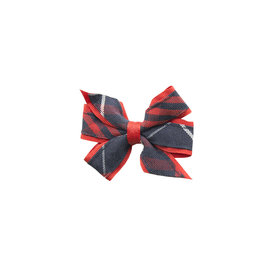 EE Dee Trim Hamilton Plaid #36 Mini Bow #FBE1M