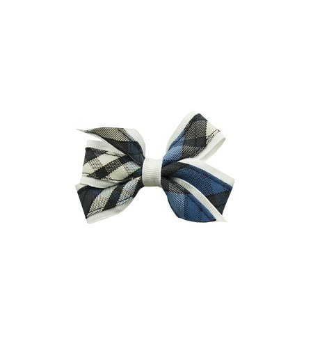 EE Dee Trim Rampart Plaid #29 Mini Bow #FBE1M