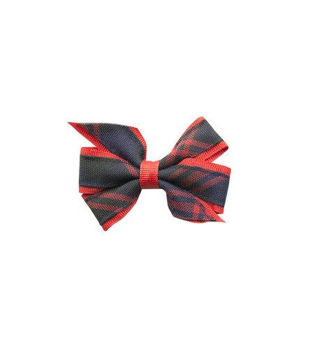 EE Dee Trim Cambridge Plaid #6B Mini Bow #FBE1M