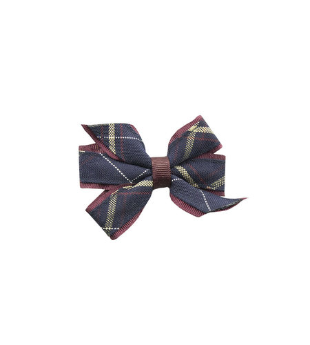 EE Dee Trim Melrose Plaid #6A Mini Bow #FBE1M