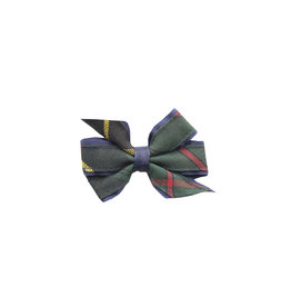 EE Dee Trim Aberdeen Plaid #5L Mini Bow #FBE1M