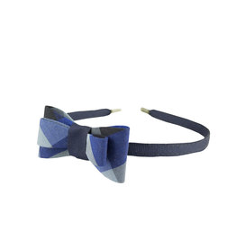 EE Dee Trim Hastings Plaid Bow Headband #FBE9HB