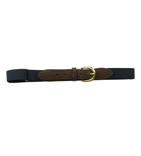 EE Dee Trim Navy Blue Adjustable Buckle Belt #FB37L