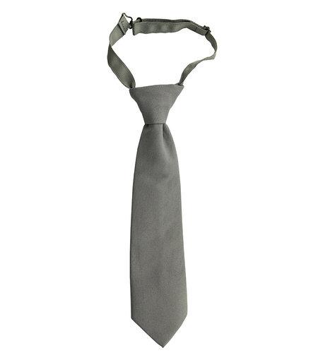 EE Dee Trim Grey Pre-tied Tie #FBE41