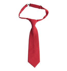 EE Dee Trim Red Pre-tied Tie #FBE41