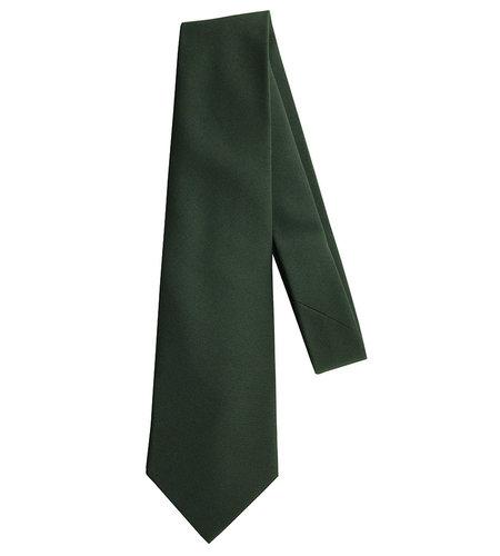 "EE Dee Trim Hunter Green 4-in-hand Tie size 52"" #FBE42"