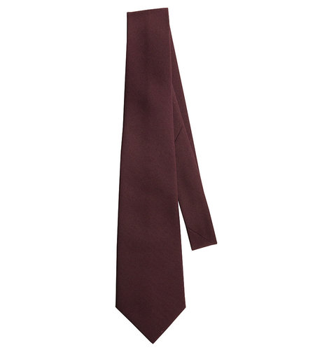EE Dee Trim Burgundy 4-in-hand Tie #FBE42