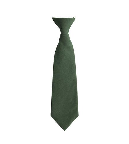 EE Dee Trim Green Pre-tied Tie #FBE41