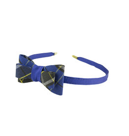 EE Dee Trim Mayfair Plaid #92 Bow Headband #FBE9HB