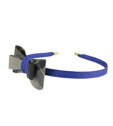 EE Dee Trim Daulton Plaid #87 Bow Headband #FBE9HB