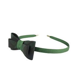 EE Dee Trim Blackwatch Plaid #79 Bow Headband #FBE9HB