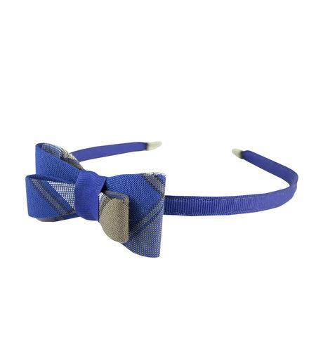 EE Dee Trim Graham Plaid #73 Bow Headband #FBE9HB