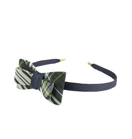 EE Dee Trim Campbell Plaid #61 Bow Headband #FBE9HB