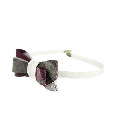 EE Dee Trim Rodrick Plaid #54 Bow Headband #FBE9HB