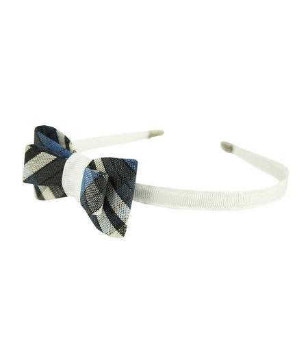 EE Dee Trim Rampart Plaid #29 Bow Headband #FBE9HB